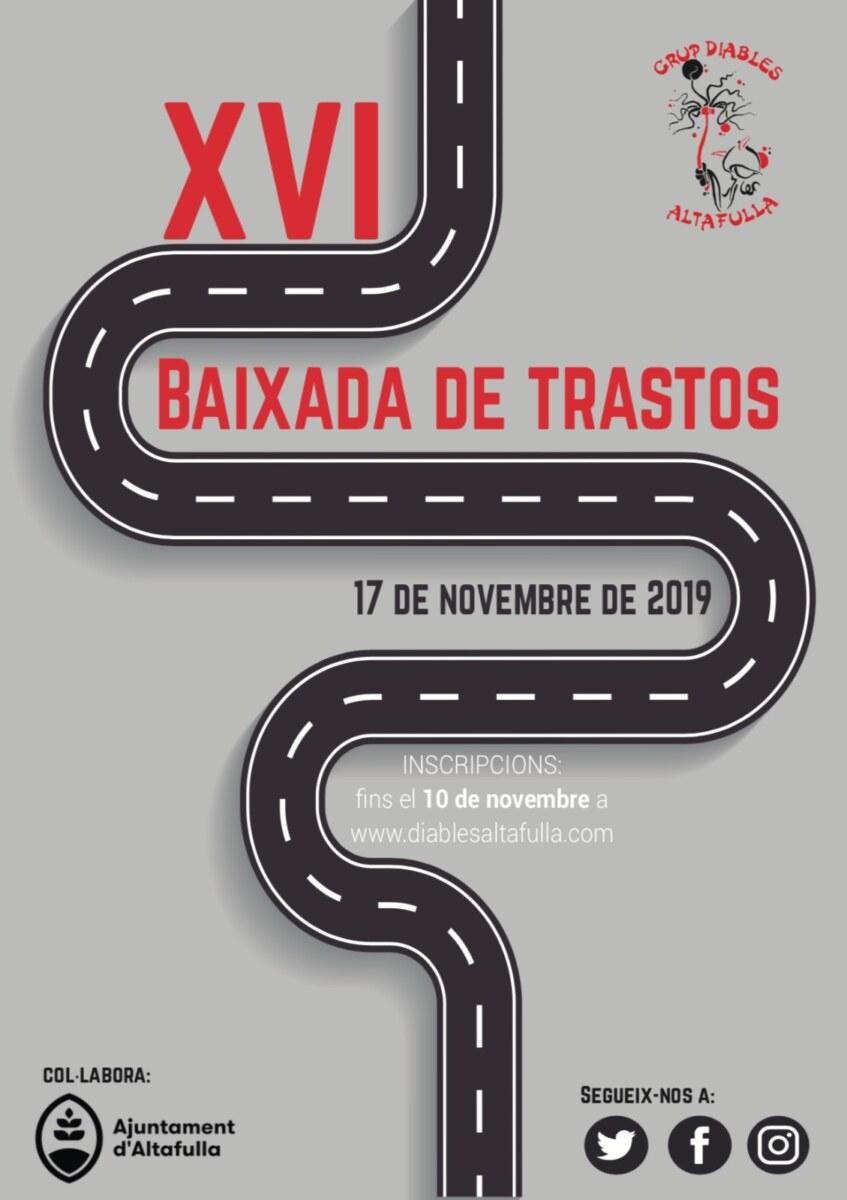 Inscripció Baixada de Trastos 2019